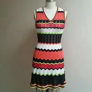 Missoni Chevron Sleeveless Dress 40